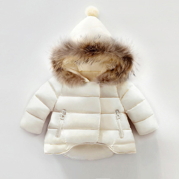 children girls outerwear coats new fashion winter hooded warm thick bebe down parkas kids clothes girls sport jacket clothing