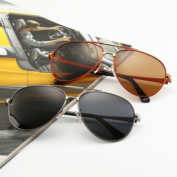 Высокое качество 2019Mercedes-Bens 749 Модные солнцезащитные очки для мужчин и женщин 65 мм UV400 Поляризованные линзы Очки Рэй Очки Баны Бренды