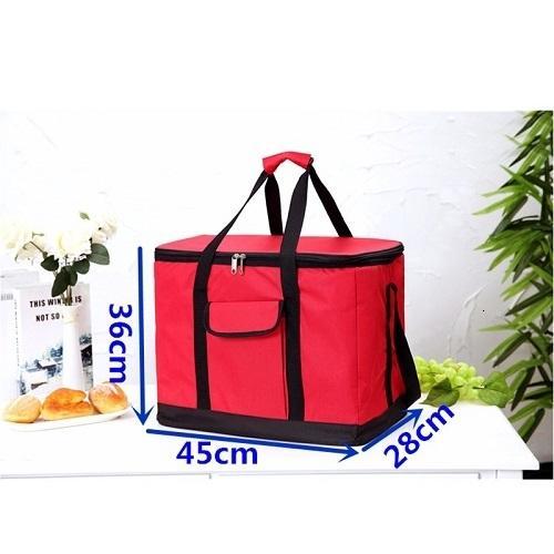Nur rote Tasche