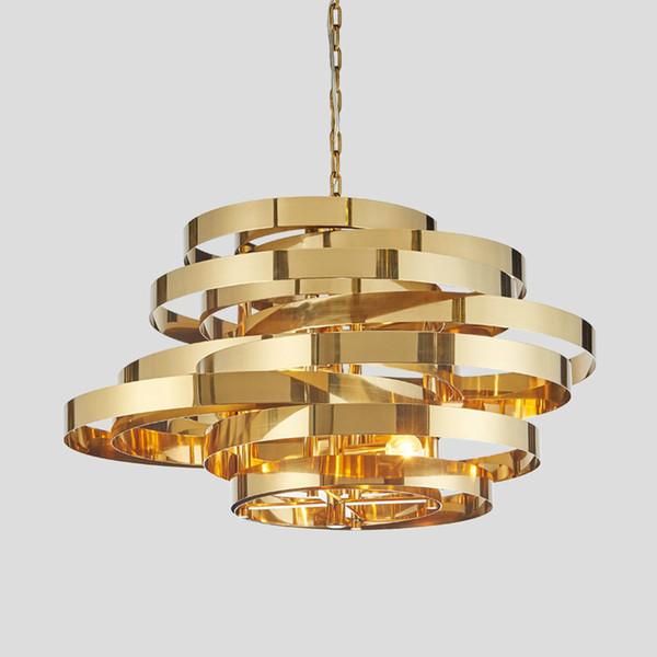 reputable site 81405 b6304 Modern Gold Pendant Lights Hardware Modern Pendant Lamp For Dining Kitchen  Room Foyer Metal White Pendant Lightings Ceiling Light Shade Lantern ...