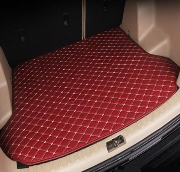 Free Shipping 2008-2018Years BMW X5 5 seats Car Anti-skid Trunk Mat Waterproof Leather Carpet Car Trunk Mat Flat Pad
