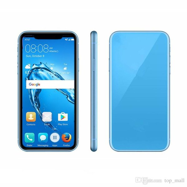 5.5inch Andriod Phone XS 1GB RAM 4GB ROM Quad Core 3G WCDMA Fake 4G Displayed Dual SIM Card Goophone Smartphone