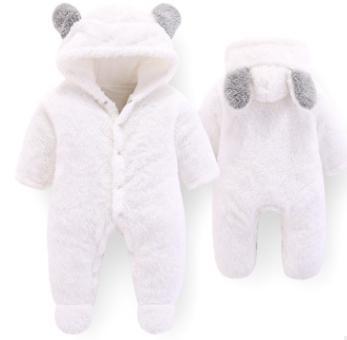 #1 Baby Hooded Rompers