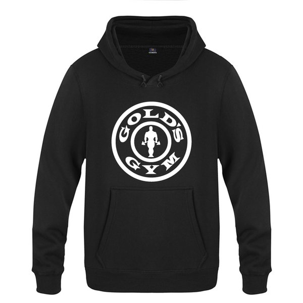 Gym Muscle Fitness Bodybuilding Novelty Hoodies Men 2018 Men's Pullover Fleece Hooded Sweatshirts