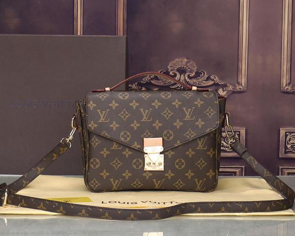 Free shipping famous Designer shoulder bag Women's handbag ladies high quality lady clutch purse retro shoulde bag wallets purse with tag 24