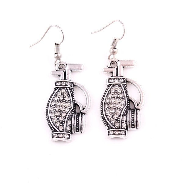 HL0094 Factory direct sales Korean version of the European popular golf bag earring amulet nordic vintage earring charm females jewelry