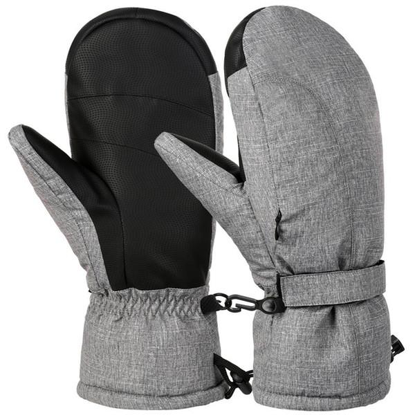 Vbiger Men Women Ski Gloves Warm Winter Gloves Casual Outdoor Sports Mitten Thickened Snowboard
