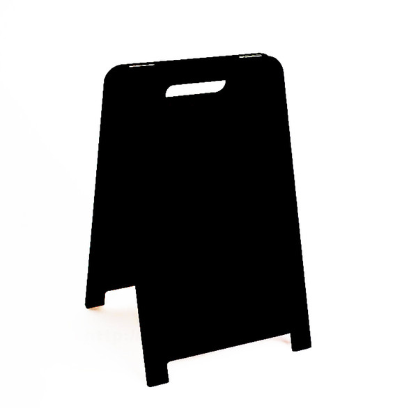 top popular Desktop Advertising Blackboard Message Board Countertop Poster Menu Billboard Double Sided Table Sign Stand Signage Plate Stand 2021