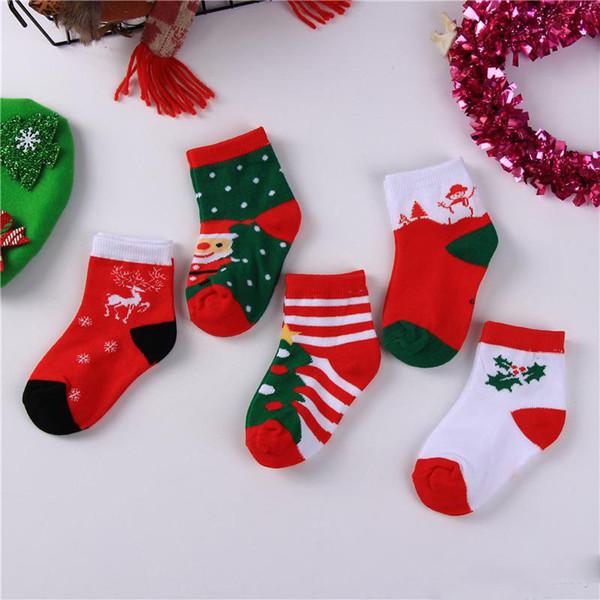 Boys Christmas Socks.New Autumn Winter Baby Christmas Socks Kids Boys Girls Ankle Socks Child Sock Children Foot Warm Cotton Socks Nylon Socks Thigh Socks From