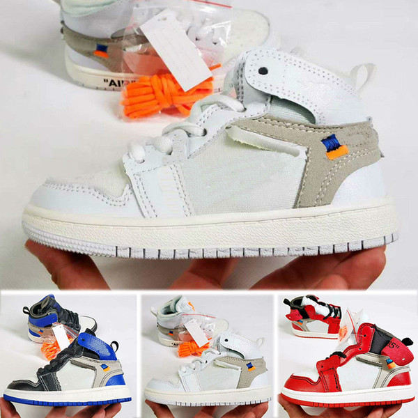 Wholesale kids shoes J 1 1s cheap store Top Quality kids Basketball shoes price free shipping sales 28-35