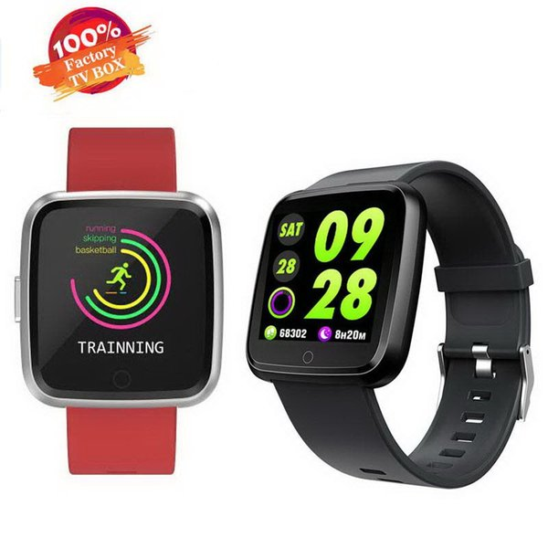 Y7 Waterproof Fitness Bracelet Heart Rate Blood Pressure with call messages remote control smart watch for Android&IOS