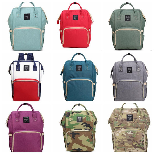 Baby Diaper Backpack Mommy Changing Bags Mummy Backpacks Nappy Mother Maternity Backpacks Outdoor Fashion Handbags Large Travel Bags D01