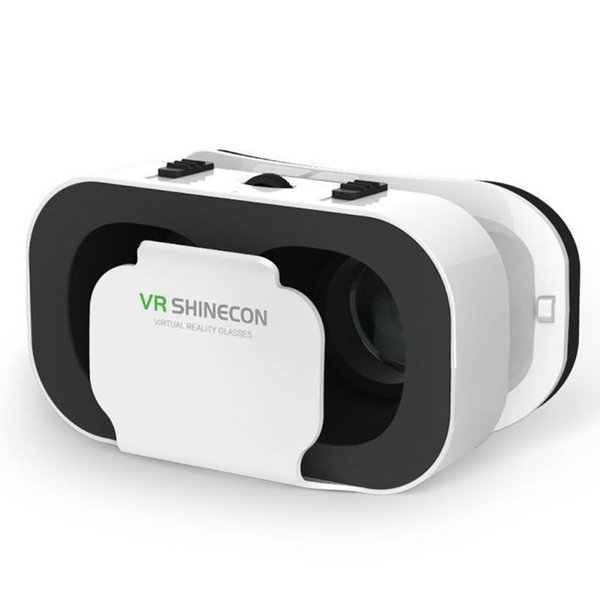 Casque Headset VR Shinecon Virtual Reality Glasses 3D Helmet 3D Google Cardboard For Smartphone Goggles Mobile Lens