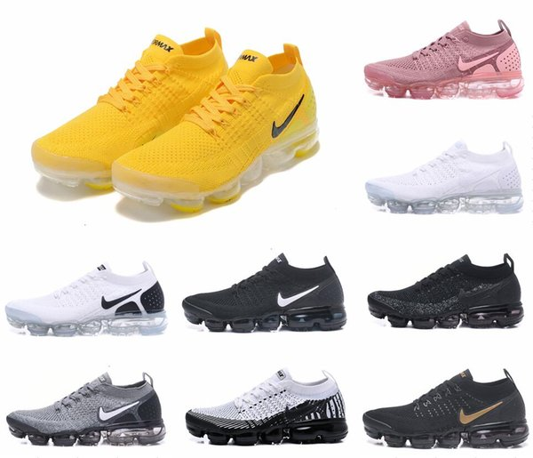 Moc 2 Release Mens Shoelace yellow Triple Black Zapatillas de running para rosa Mujer University Red Sneakers Sports Trainers oreo Racer Shoe