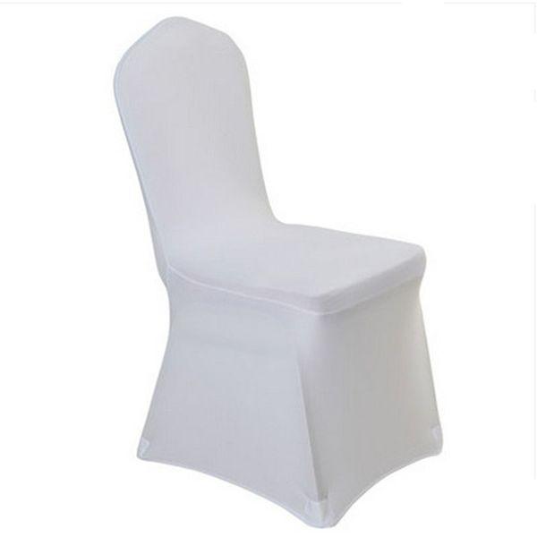Blanc universelle extensible Polyester Spandex Parti Chaise de mariage housses pour Lycra Weddings Chine salle à manger Cuisine Chaise couverture