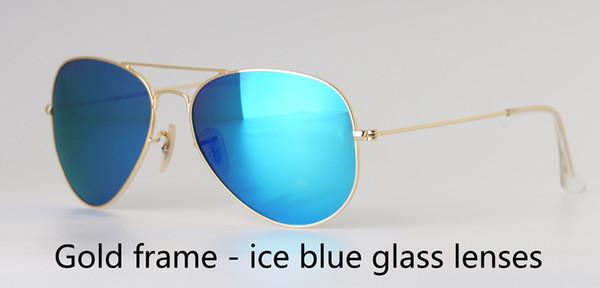 золото голубой лед