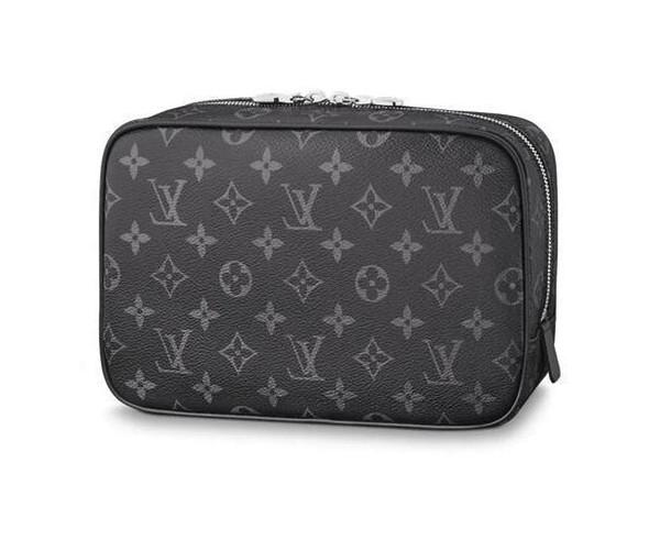 Toilet Pouch Gm M43383 Men Belt Bags Exotic Leather Bags Iconic Bags Clutches Portfolio Wallets Purse