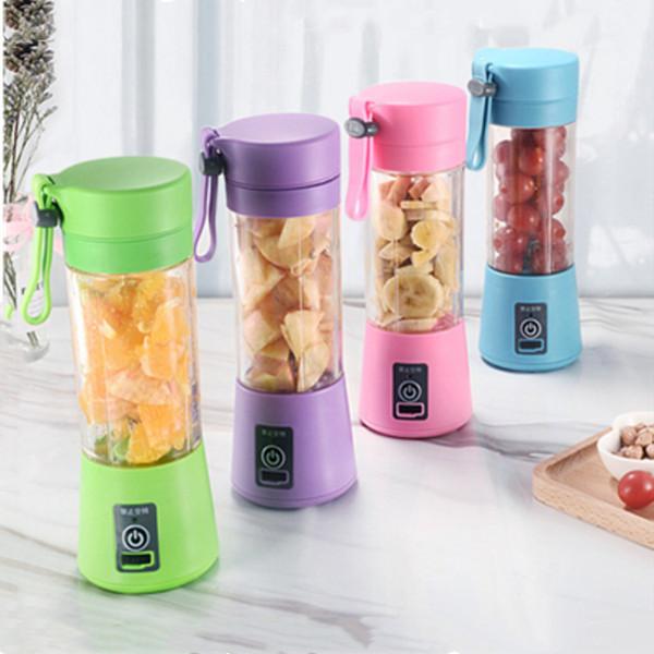 Presse-agrumes 380ml Mélangeur Portable Mini Blender Juicer Bottle Electric Juicer Bottle Fruit Juicer Cup Légumes Outils Baby Food Mills T2I5323