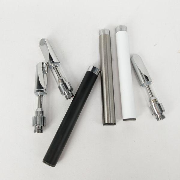 A9s .5 мл жидкостью Vape картридж + м3 жидкостью Vape батарея 350mah батареи 510 даб ручка комплект густое масло Vape ручка ecig воска масла ручка стартера комплекты
