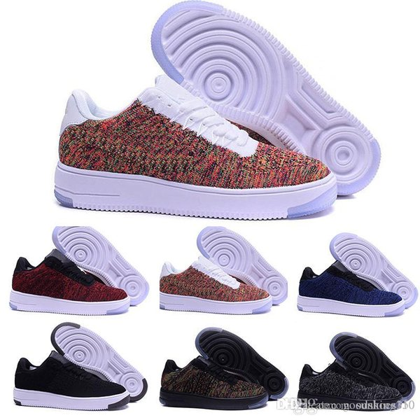 Moda Hombres Zapatos Low One 1 Hombres Mujeres China Casual Shoe Fly Designer Royaums Tipo Breathe Skate knit Femme Homme A05