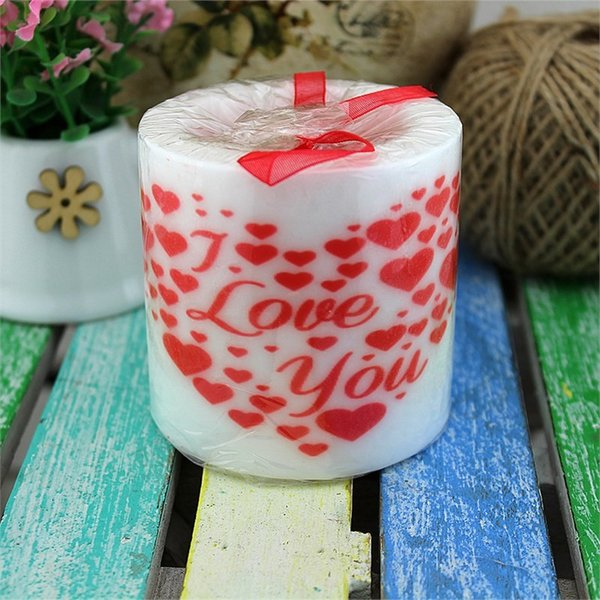 top popular Hunga Love Your Heart Candle Pattern Scented Candle Ship from Turkey HB-001638853 2019
