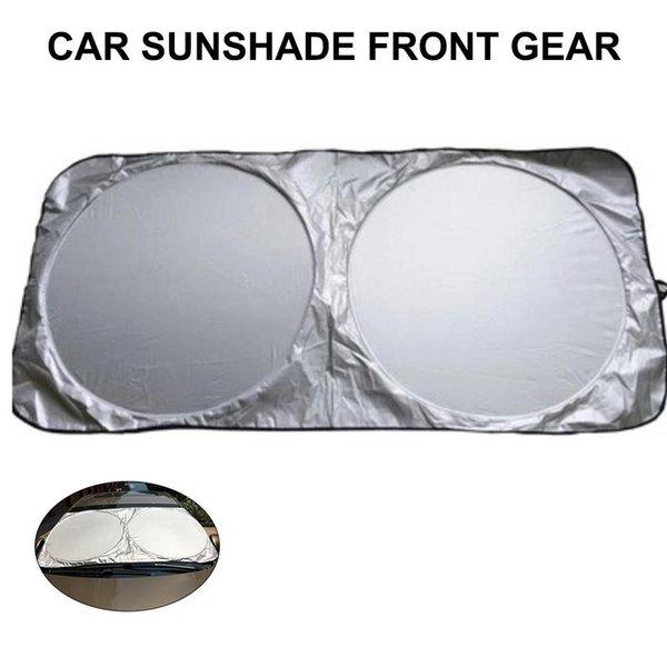 Pára-brisa do carro Pára-frontal do pára-sol dobrável e portátil para proteção contra Sunbeams 150 * 80CM