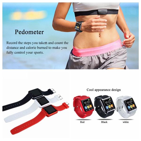 Cheapest Bluetooth Smart Watch U8 Men Women Kids Smartwatch Sport Pedometer Wristwatch Clock Hours For IOS Android Phone