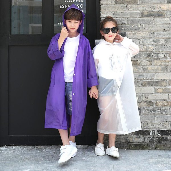 free shipping street price On Clearance New Four Seasons Universal Height Is 120 Cm To 150 Cm For Children  Transparent Raincoat Rain Gear Rainwear For Kids Raincoat For Boys From ...