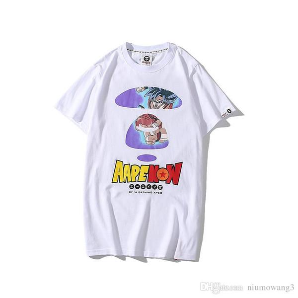 T-shirt de haute qualité APE shirt japon fonction marée marque Slim fit mode été marque été classique tee shirt à manches courtes livraison gratuite