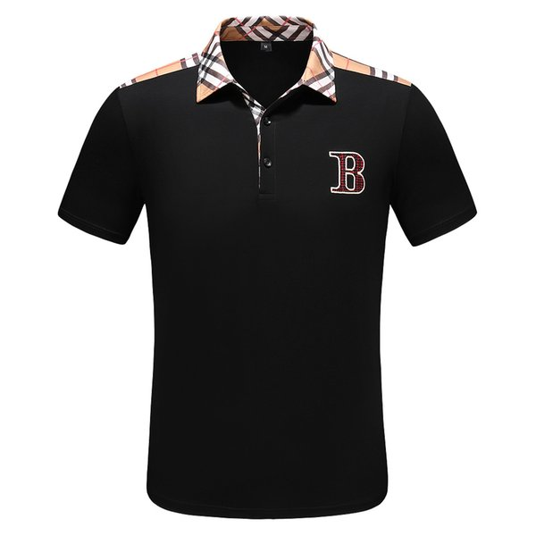 2019 NOUVEAU Medusa Polo shirt À manches courtes abeille Mens Fashion Polos shirt Vêtements Chemises Courtes Italie Designer polos shirts impression T-shirt Casual