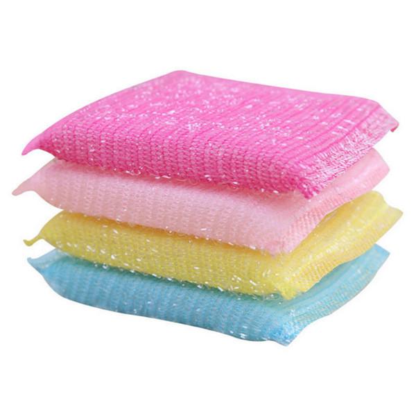 New 1 pc Scrub Wash Clean Block Wipe Pot No Oil Dishcloth Water Uptake Kitchen cloths brushes melamine magic sponge eponge magique