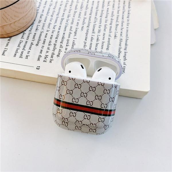 Designer Airpods Case Fashion Kunststoff-Schutzhülle Luxus Airpods Cases Drahtlose Bluetooth-Headset Ladetasche Cover Kopfhörer Fall