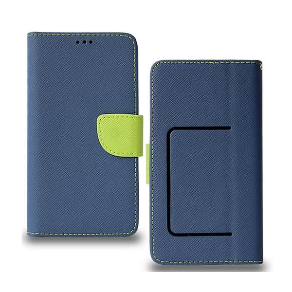 Bunte Universalgröße Wallet Phone Case Ständer Abdeckung für iPhone 11 Pro Max XR 6S Plus-i7 i8 Samsung S10 S10e 6 5,7 5,3 Inch