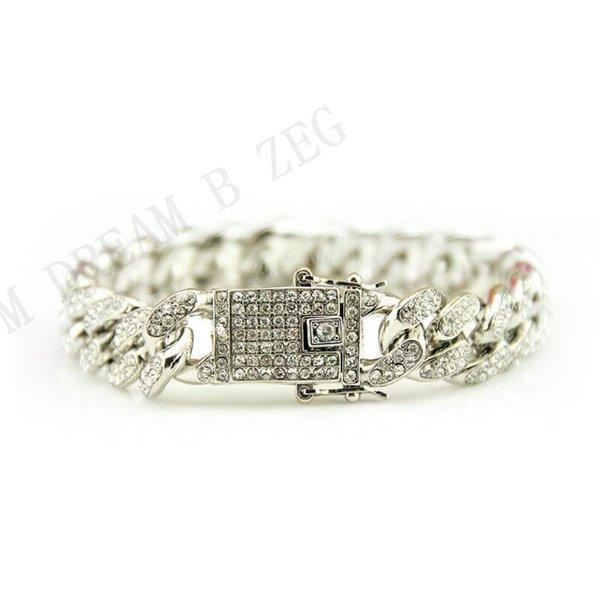 silver bracelet 8inch(20cm)