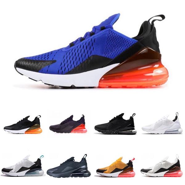 Nike air max 270 Новые 2019 Обувь Парра Подушка Кроссовки Мода Flair Золото Черный Белый Красный Мужчины Женщины Кроссовки Спорт
