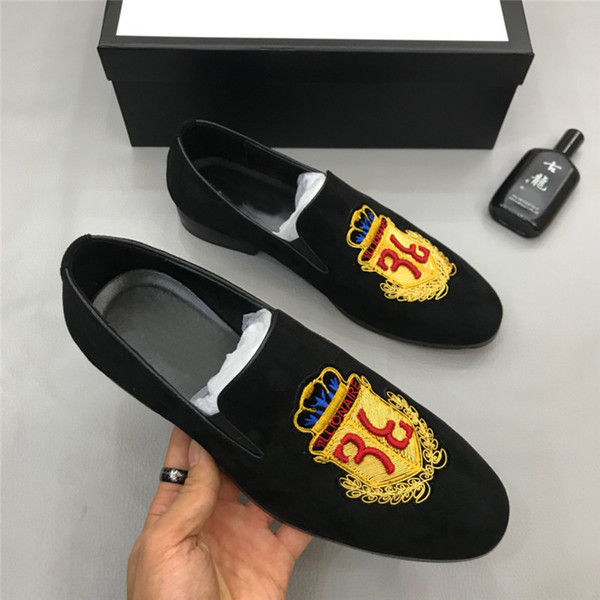 INS Hot Designer Branded Men Espadrilles Top Quality Luxury Leather Lambskin Men's Flat Shoes Fashion Comfortable casual loafers sneakers