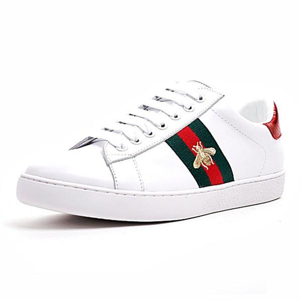 Cheap Designer di lusso Uomo Donna Sneaker Scarpe casual Low Top Italia Marca Ace Bee Stripes Scarpe Walking Scarpe da ginnastica sportive Chaussures Pour Hommes
