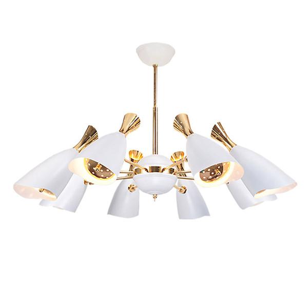 Modern LED Chandelier Nordic Dining Room Kitchen Spot Light Designer Hanging Lamps Avize Lustre Lighting LED Pendant lighting 110-240v