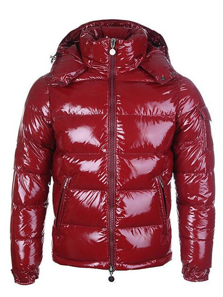 HOT Brand Men Casual shiny Down Jacket Down Coats Mens Outdoor Fur Collar Warm Man Winter Thick warm Coat outwear jackets parkas