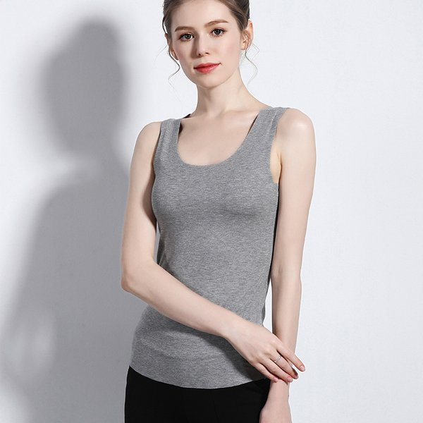 Twtzq New M-xxl Plus Size Summer Sleeveless Tank Top Women T Shirt Cotton O-neck V-neck Slim Girls Tops Women Clothes 3bx004 Y190516