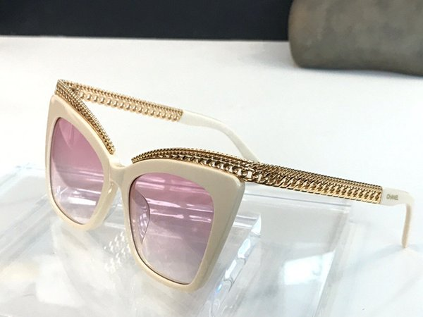 white gold gradient pink lens