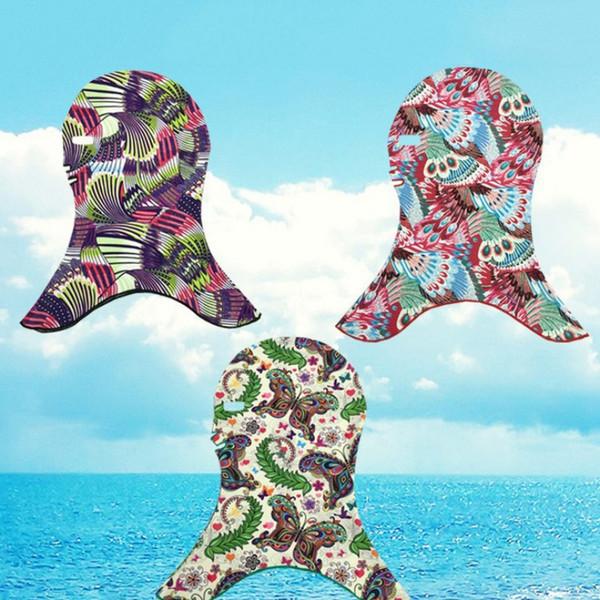1 шт. Женщины мужчины водонепроницаемые шапочки для плавания анфас солнцезащитный крем маска для лица для плавания Facekini бикини солнцезащитная маска защитная маска