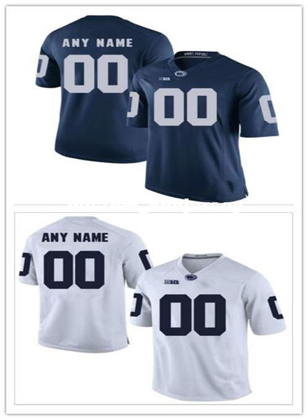 Cheap custom Penn State Men's College football jersey Customized College Football Jersey Any name number Stitched Jersey XS-5XL