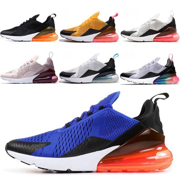 Nike air max 270 2019 FLY Running Shoes 3 M Formadores Designer 2019 Sapato Seahawks CNY Total Laranja Preto Roxo Arco Íris Para Homens Mulheres tênis