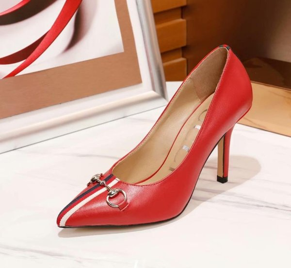 Free shipping fashion women's water pump paint patent leather pointed high heels thin heel shoes leather 9cm catwalk wedding shoes