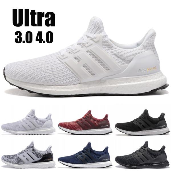 2019 Ultra boost 3,0 4,0 Männer Laufschuhe Beste Qualität Ultraboost Oreo Grau Designer Schuhe Frauen Sport Turnschuhe US 5,5-11