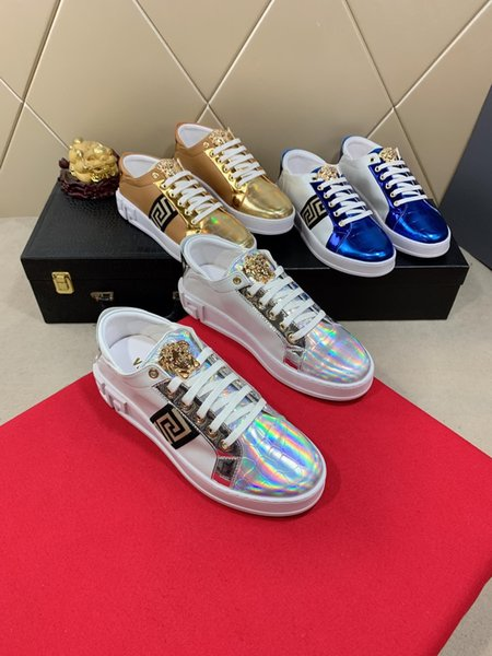 2019q limited edition men's casual shoes, trend wild fashion men's sports shoes, shoe size 35-45, DHL original packaging shoe box delivery