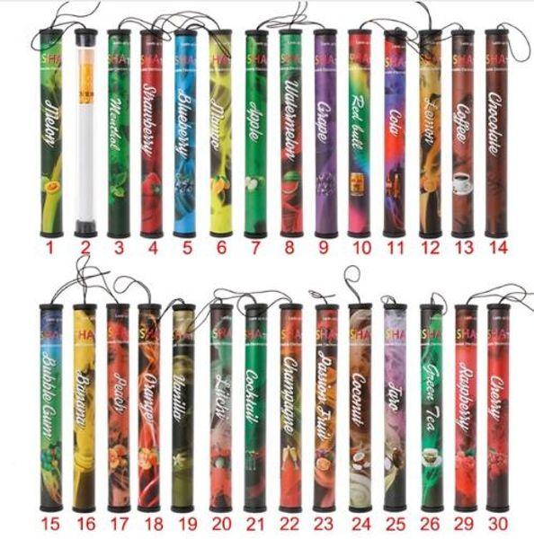 Wholesale ECT Fruits Flavor 500 Puffs Disposable Vapor Hookah Electronic Shisha Stick Pen.