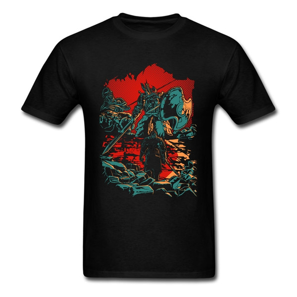 Dark Souls T Shirt Cotton Short Sleeve Custom Men's Shirt Hip Hop Vintage Plus Size T Shirts For Boys
