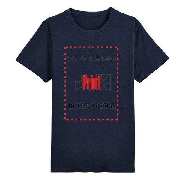 Camisetas para hombre azul marino